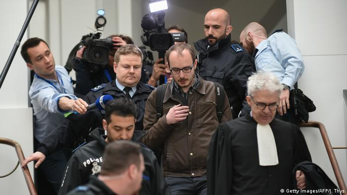 Luxemburg | LuxLeaks Prozess (Getty Images/AFP/J. Thys)
