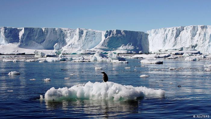 New study links Antarctic ice-shelf melt to global sea-level rise |  Environment| All topics from climate change to conservation | DW |  12.12.2017