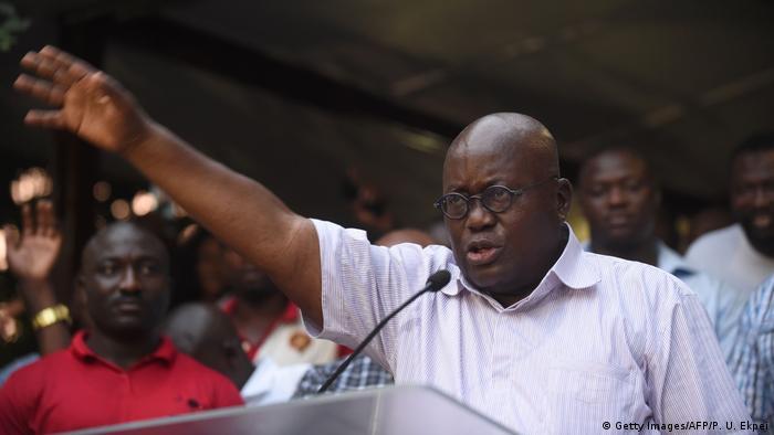 Ghana Präsidentschaftswahlen- Nana Akufo-Addo (Getty Images/AFP/P. U. Ekpei)