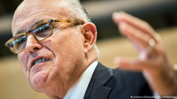 USA Rudolph Giuliani (picture-alliance/dpa/S. Kembowski)