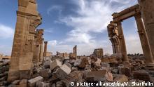Syrien Oasenstadt Palmyra
