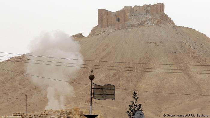 Syrien Palmyra (Getty Images/AFP/L. Beshara)