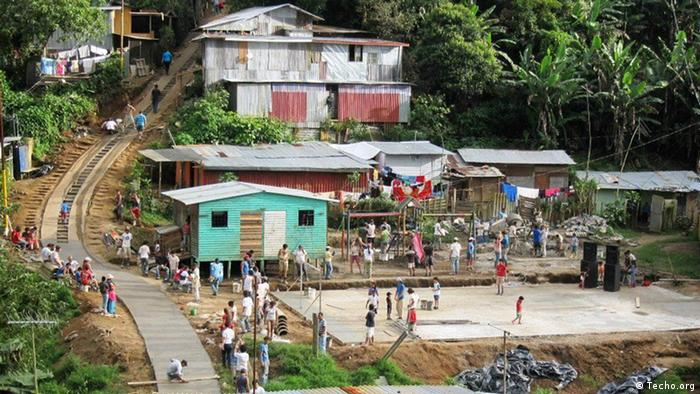 Costa Rica Marginalsiedlung (Techo.org)