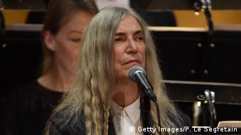 Patti Smith at the Nobel Prize ceremony in Stockholm (Getty Images/P. Le Segretain)
