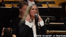 Schweden | Nobelpreis 2016 Preisverleihung in Stockholm | Auftritt Patti Smith