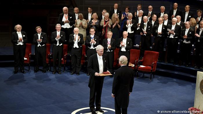 Вручение Нобелевских премий в Стокгольме