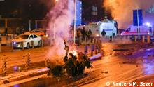 December 10, 2016*** Police arrive at the site of an explosion in central Istanbul, Turkey, December 10, 2016. REUTERS/Murad Sezer