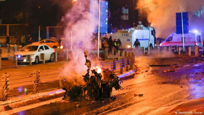 Türkei Explosion in Istanbul