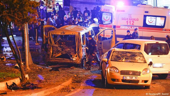 Türkei Explosion in Istanbul (Reuters/M. Sezer)