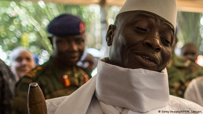Yahya Jammeh (Foto: Getty Images/AFP/M. Longari)