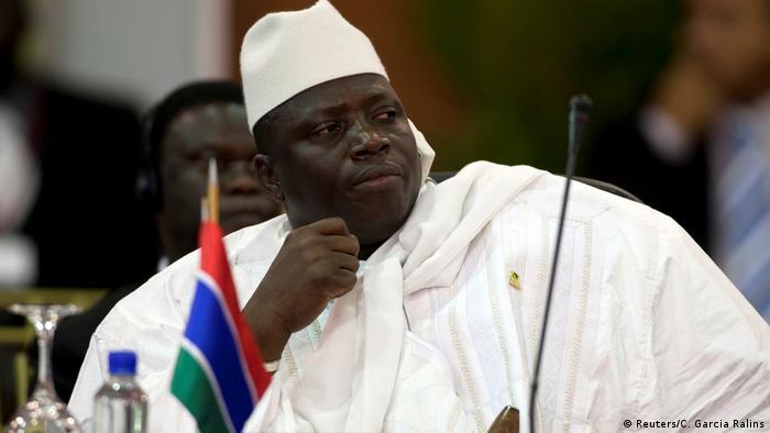 Gambia Wahlen Yahya Jammeh (Reuters/C. Garcia Ralins)