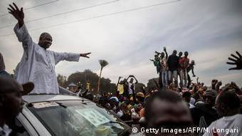 Gambia Wahlsieger Adam Barrow (Getty Images/AFP/M. Longari)