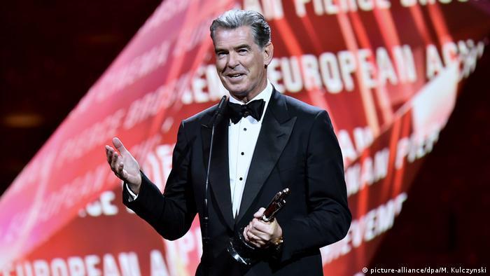 Ірландський актор Пірс Броснан отримав нагороду за видатні заслуги в кінематографі