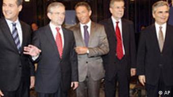 Austrijski stranački kandidati za izbore 2008.