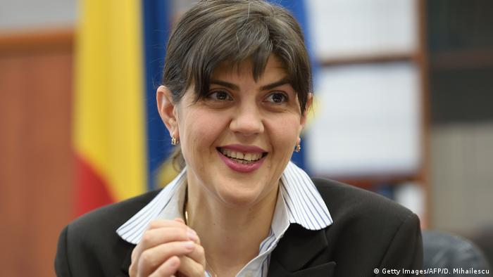 Head of National Anti corruption Department (DNA), Laura Codruta Kovesi (Getty Images/AFP/D. Mihailescu)