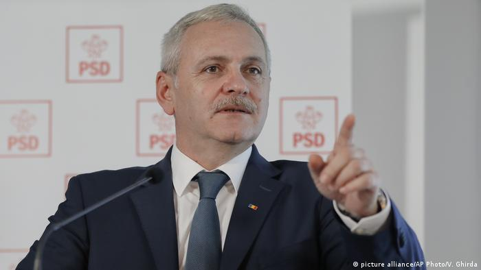 Liviu Dragnea (picture alliance/AP Photo/V. Ghirda)