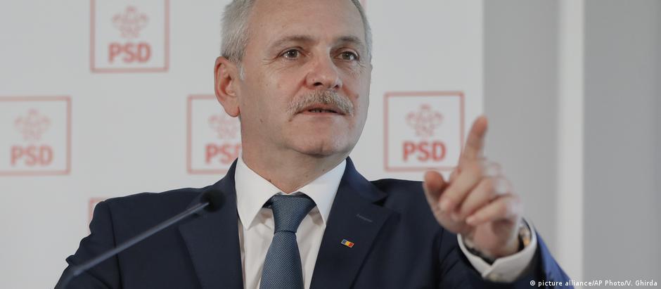 Líder social-democrata, Liviu Dragnea, foi condenado por fraude eleitoral