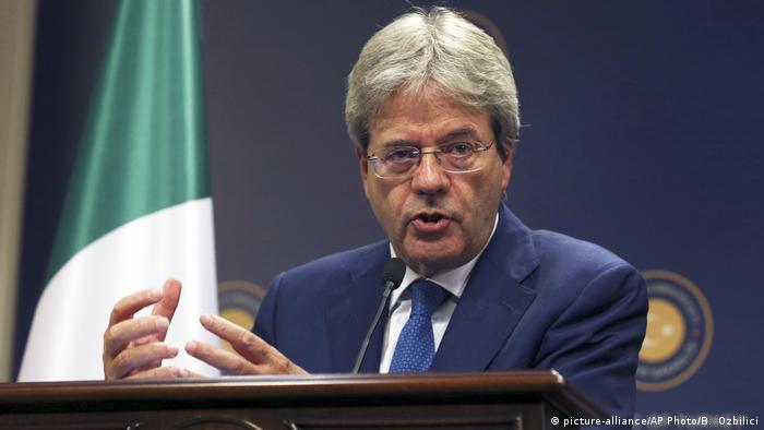 Paolo Gentiloni Außenminister Italien