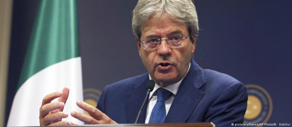 Gentiloni quer tramitar com rapidez nova lei para realização de eleições no país