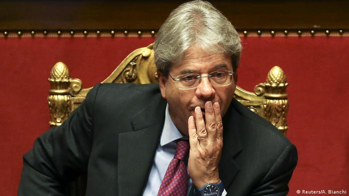 Paolo Gentiloni Außenminister Italien (Reuters/A. Bianchi)