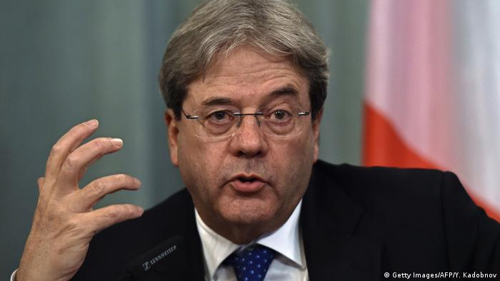 Paolo Gentiloni Außenminister Italien (Getty Images/AFP/Y. Kadobnov)