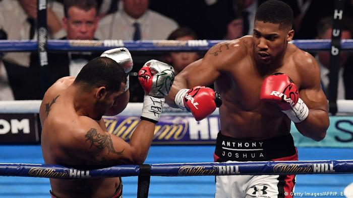 Boxsport Schwergewicht Anthony Joshua - Eric Molina (Getty Images/AFP/P. Ellis)