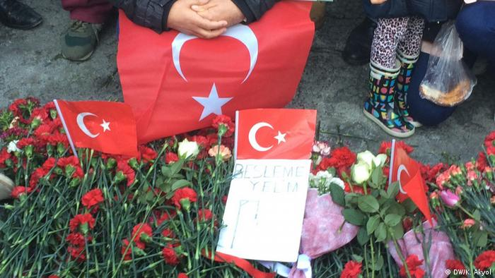 Türkei Anschlagsort Istanbul Besiktas/Vodafone Arena (DW/K. Akyol)