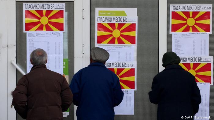 Mazedonien Wahlen