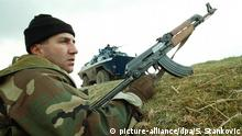 Kosovo Handfeuerwaffen serbischer Polizist