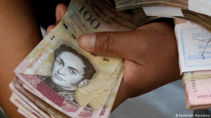 Symbolbild Venezuela Bolivar (Reuters/U. Marcelino)