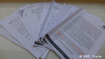 Ukraine Unterlagen im Prozess gegen den Multimillionär Onexandr Onyschteschenko