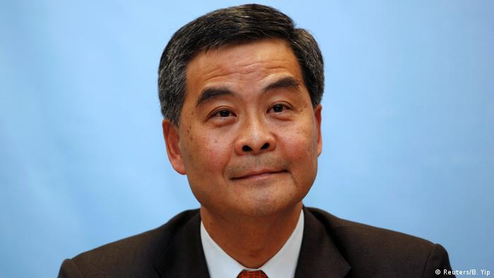 Hong Kong Wahlen Leung Chun-ying Kandidat (Reuters/B. Yip)