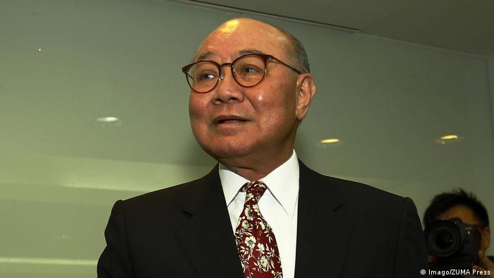 Hong Kong Wahlen Woo Kwok Kandidat (Imago/ZUMA Press)