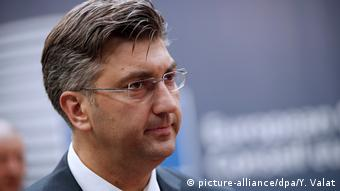 Andrej Plenkovic (picture-alliance/dpa/Y. Valat)