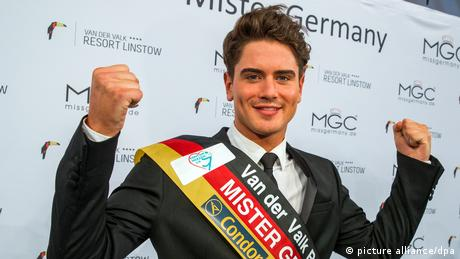 Deutschland Dominik Bruntner Wahl von Mister Germany 2017 BdT (picture alliance/dpa)