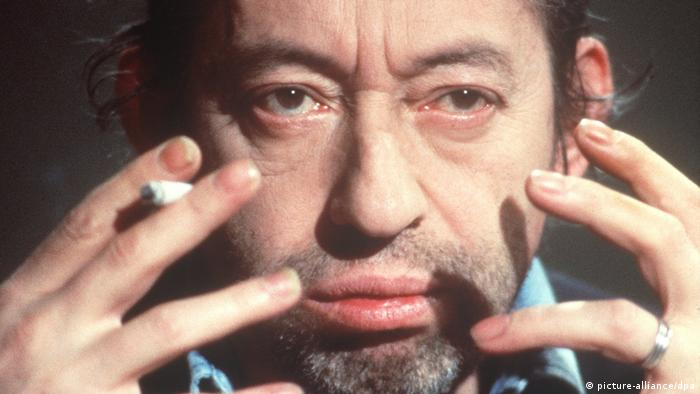 Actor and musician Serge Gainsbourg (Foto: dpa)
