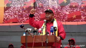 Angola Feier der MPLA João Lourenço