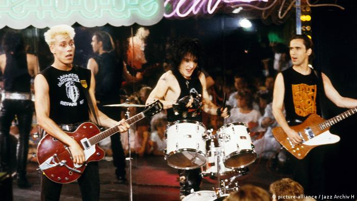 Ärzte live in the 80s (picture-alliance / Jazz Archiv H)