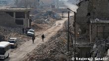 Syrien Kampf um Aleppo
