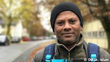 Deutschland Flüchtling Abdur Zahar Basir aus Bangladesch