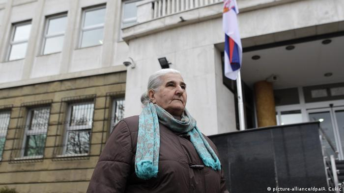 Munira Subasic, president of Mothers of Srebrenica, told reporters she does not expect anything to come out of the trial.