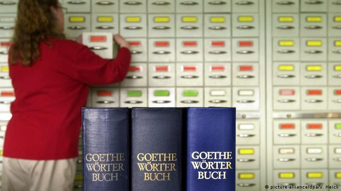 Hamburg Arbeitsstelle des Goethe-Wörterbuchs