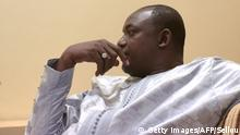 12.12.2016 *** Gambian president-elect Adama Barrow speaks during an interview in Banjul on December 12, 2016. Adama Barrow said on December 12 that longtime leader Yahya Jammeh should step down immediately after Jammeh reversed his decision to concede defeat following a presidential election. I think he should step down now, Barrow told AFP. He has lost the election, we don't want to waste time, we want this country to start moving. / AFP / SEYLLOU (Photo credit should read SEYLLOU/AFP/Getty Images)