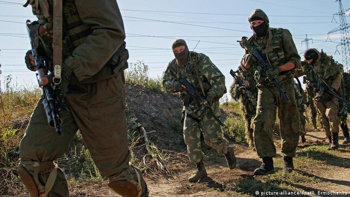 Ukraine Krise - pro-russische Separatisten