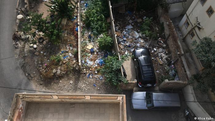 Libanon Müllwirtschaft in Beirut