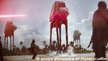 This image released by Lucasfilm Ltd. shows a scene from, Rogue One: A Star Wars Story. (Lucasfilm Ltd. via AP) |