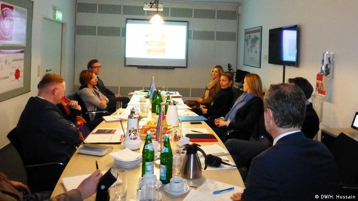 Deutschland Zentrale Ausland- und Fachvermittlung (ZAV) in Bonn (DW/H. Hussain)