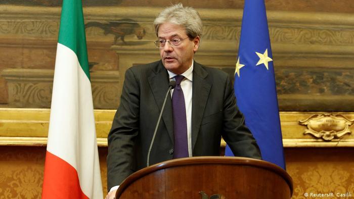 Italien designierter Premierminister Paolo Gentiloni