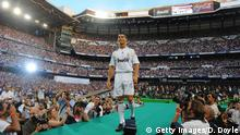 Real Madrid Präsentation Cristiano Ronaldo (Getty Images/D. Doyle)