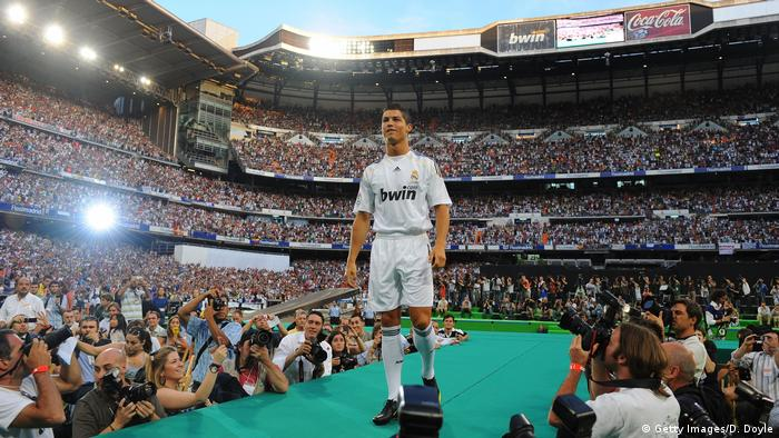 Real Madrid Präsentation Cristiano Ronaldo